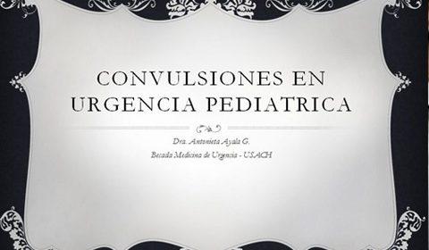 CONVULSIONES EN URGENCIA PEDIATRICA