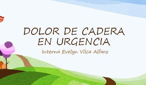 DOLOR DE CADERA EN URGENCIA